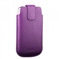 Terra Leather Collection for iPhone 3G/3GS/4 Purple
